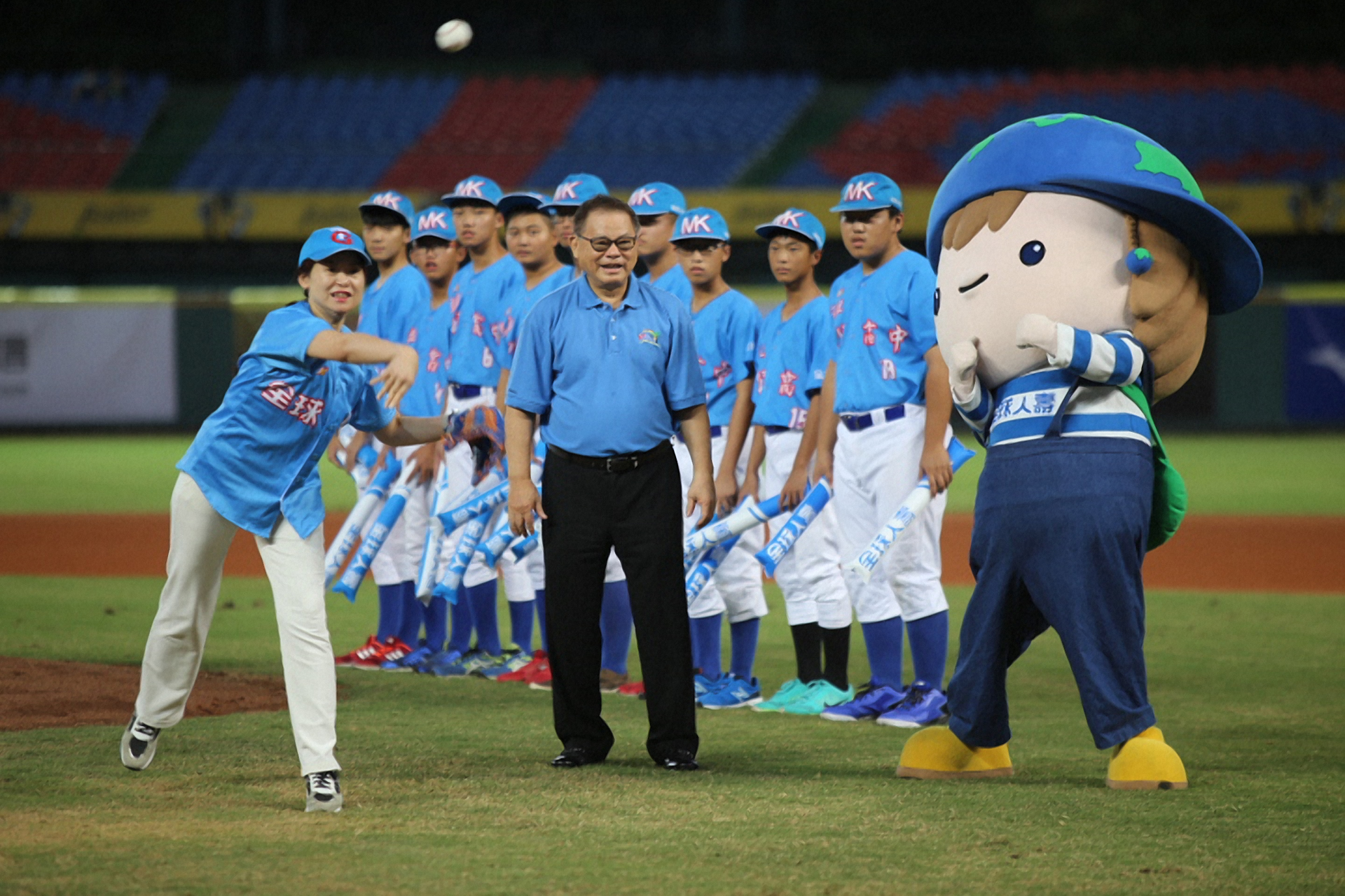 「全球人壽贊助第11屆亞洲盃(U18)青棒錦標賽 為年輕棒球好手加油」