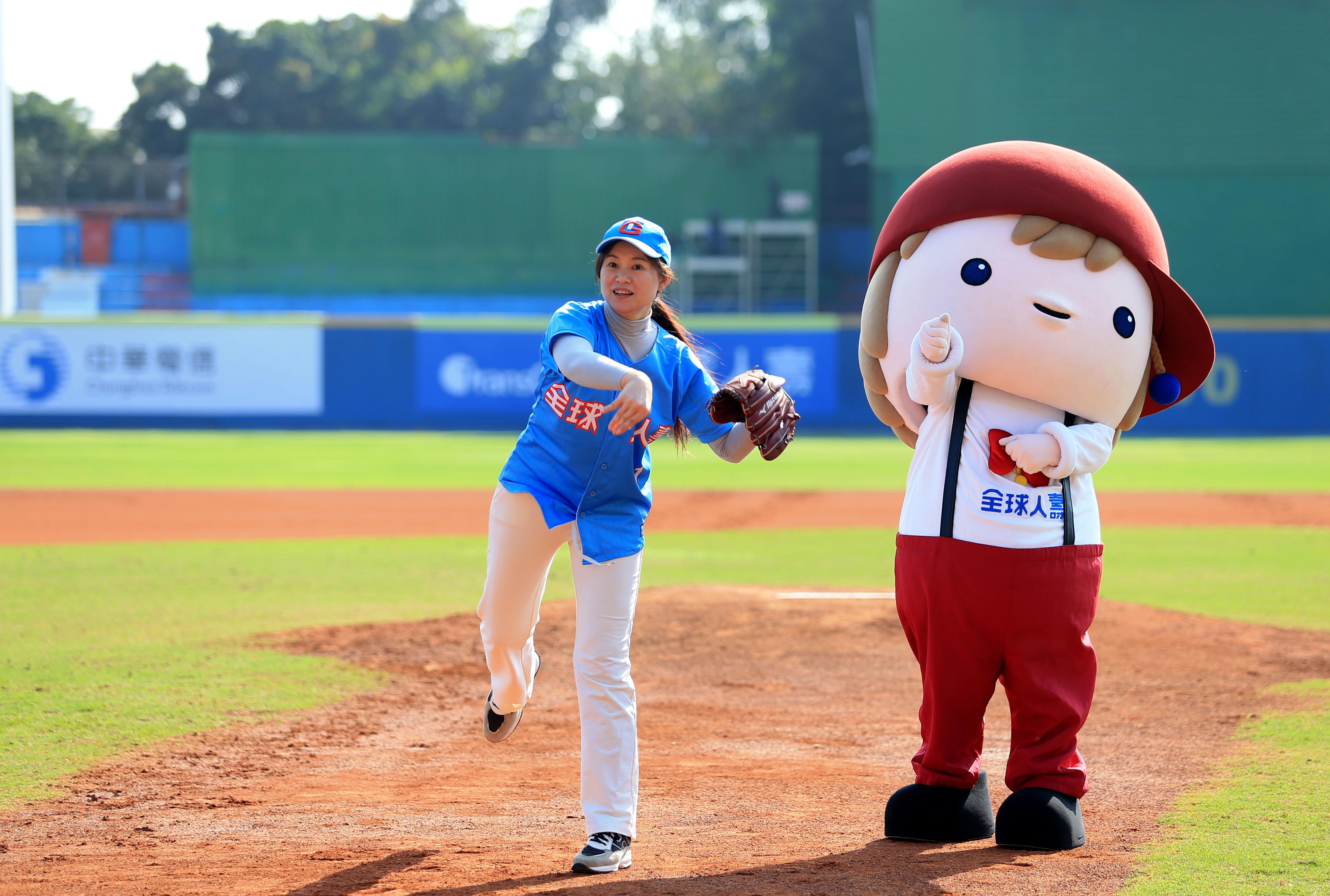 全球人壽 全心愛棒球 冠名贊助