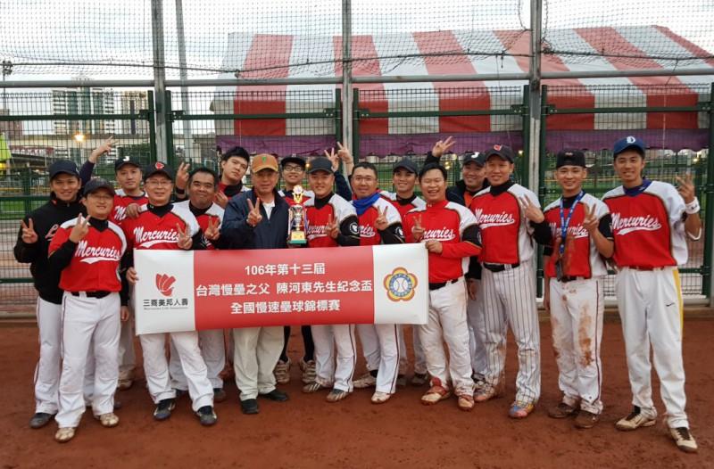 第十三屆「台灣慢壘之父-陳河東先生紀念盃全國慢速壘球錦標賽」